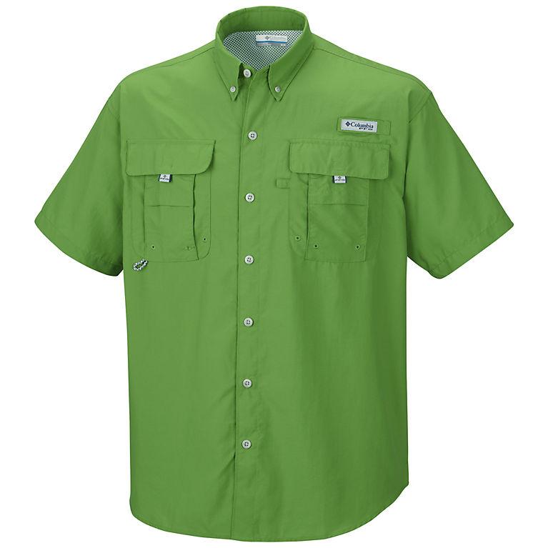 0a91a692aab7ab Clean Green Men s PFG Bahama™ II Short Sleeve Shirt—Tall