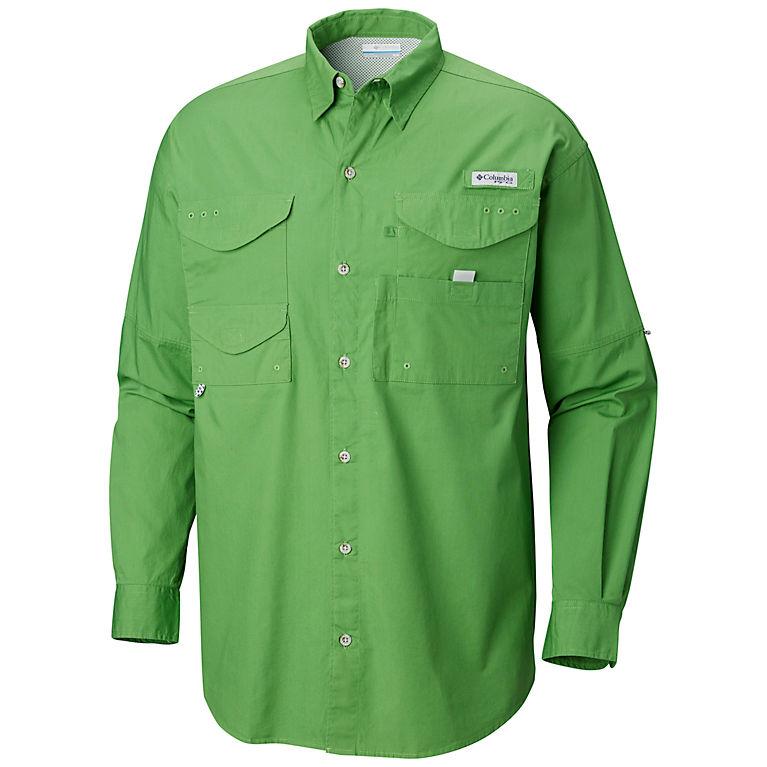 52a75ba3edb Clean Green Men's PFG Bonehead™ Long Sleeve Shirt — Tall, View 0