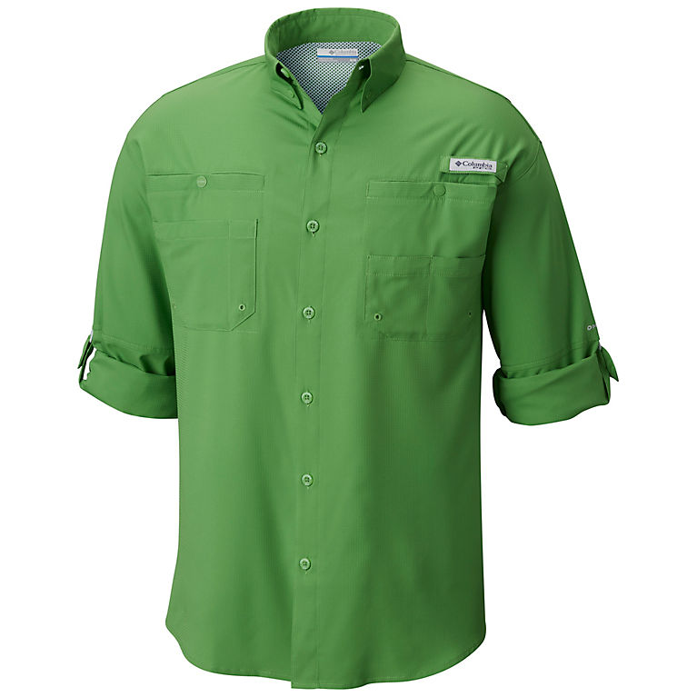 Clean Green Men s PFG Tamiami™ II Long Sleeve Shirt — Tall 285affb74669