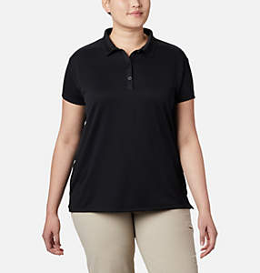 Women's Innisfree™ Short Sleeve Polo Shirt - Plus Size
