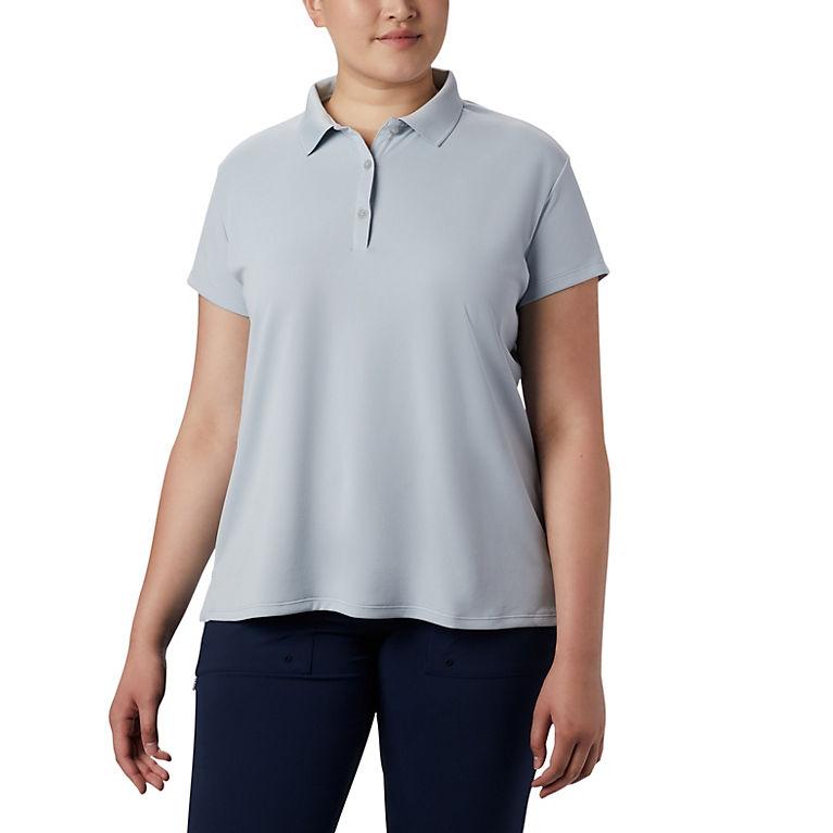 Women\'s PFG Innisfree™ Short Sleeve Polo Shirt - Plus Size   Columbia