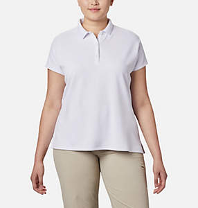 Women s PFG Innisfree™ Short Sleeve Polo Shirt - Plus Size 073cf96565