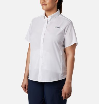 Women's PFG Tamiami™ II Short Sleeve Shirt - Plus Size | Tuggl