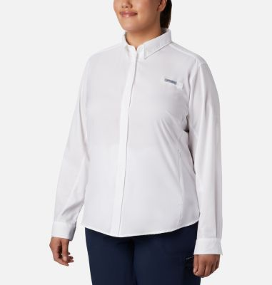 Women's PFG Tamiami™ II Long Sleeve Shirt - Plus Size | Tuggl