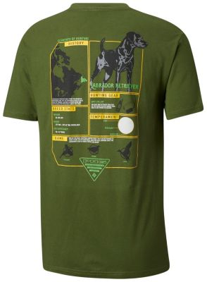 Men's PHG Boomer Cotton Tee Shirt at Columbia Sportswear in Economy, IN | Tuggl