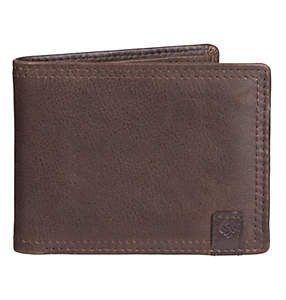 Men's Wallet RFID Pebbled Leather Wallet