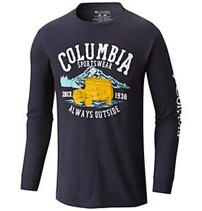 Men's Glycerine Cotton Tee Shirt L/S