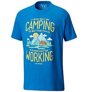Men's Camp Cotton Tee Shirt S/S
