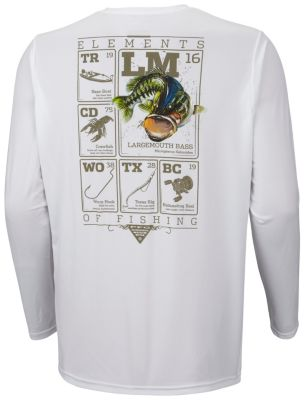 Men's Terminal Elements Bass™ Long Sleeve Tee
