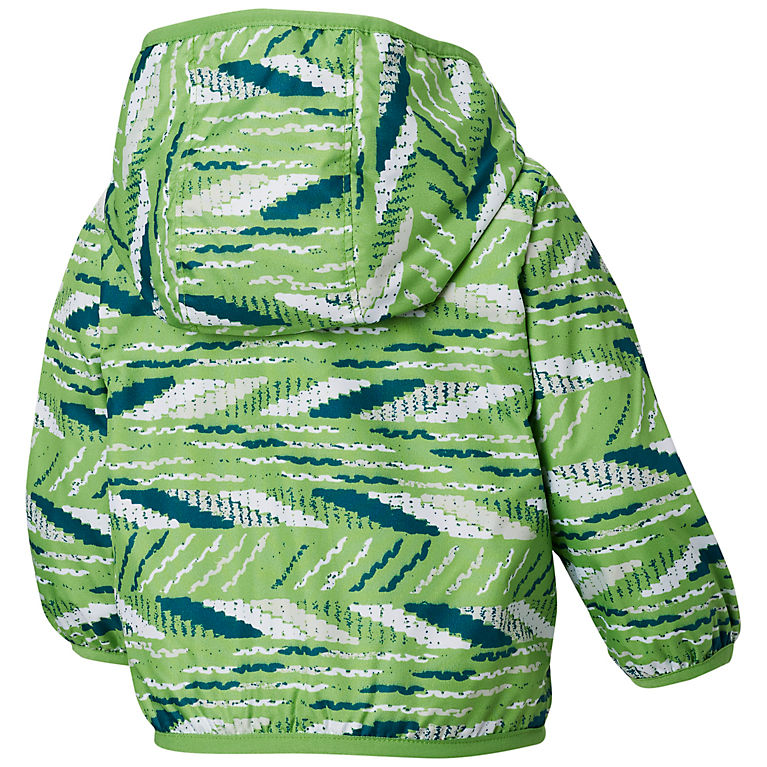 a03b69a03 Cyber Green Beach Stripe Infant Mini Pixel Grabber™ II Wind Jacket, View 1