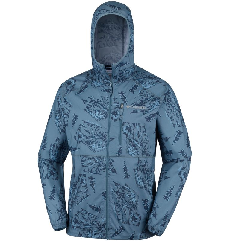 Men's Flash Forward™ Windbreaker Print Jacket Men's Flash Forward™ Windbreaker Print Jacket, a1