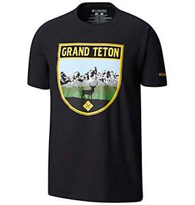 Men's Jacksonhole Cotton Tee Shirt