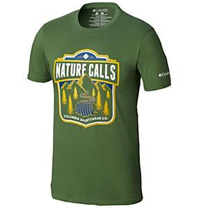 Men's Wave Graphic Tee Shirt