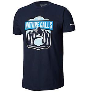 Men's Wave Graphic Short-Sleeve T-shirt