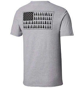 Men's Tree Flag Graphic Tee Shirt