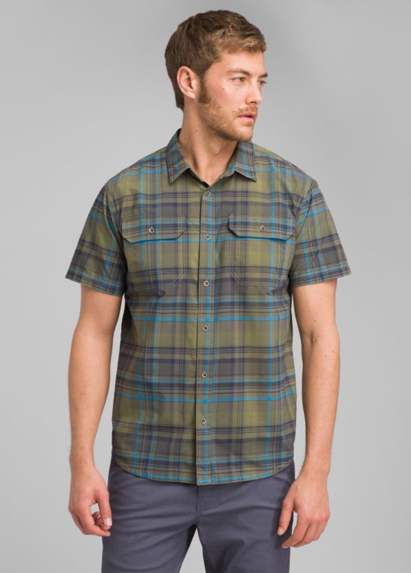 Cayman Plaid Short Sleeve Cayman Plaid Short Sleeve