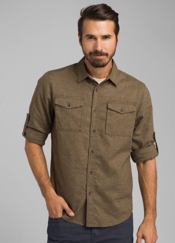 Merger Long Sleeve Shirt-Tall Merger Long Sleeve Shirt-Tall