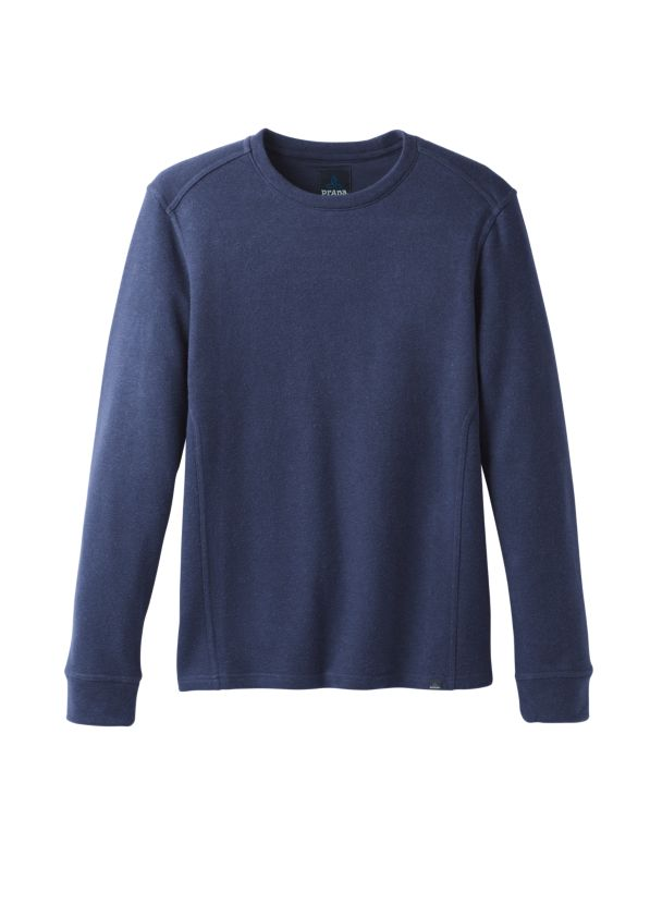 Norcross Long Sleeve Crew Norcross Long Sleeve Crew, Blue Anchor Heather