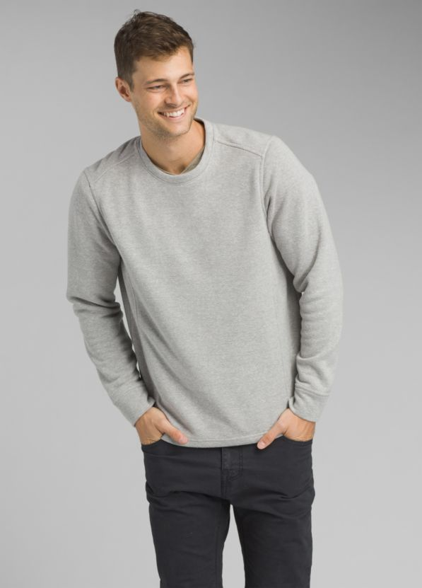 Norcross Long Sleeve Crew Norcross Long Sleeve Crew, Heather Grey