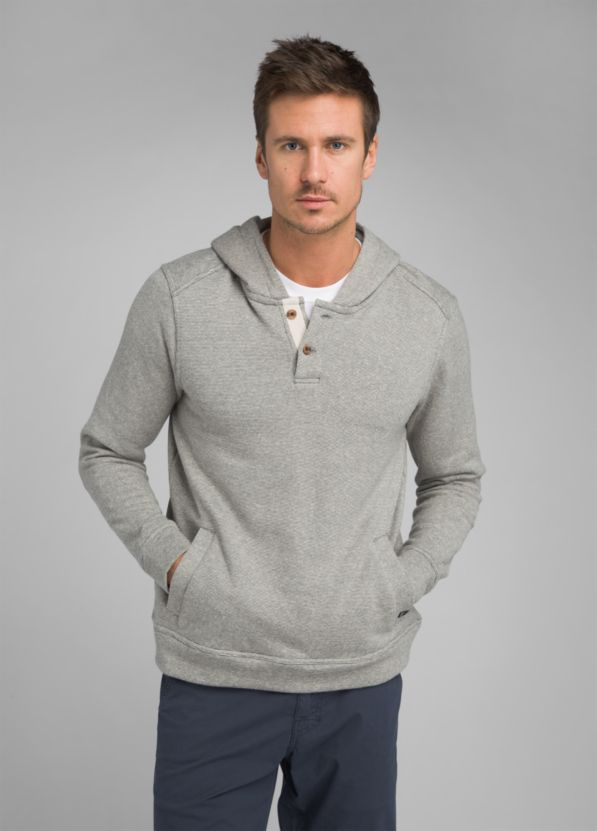 Trawler Hooded Henley Trawler Hooded Henley, Aloe Stripe