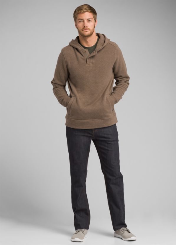 Trawler Hooded Henley Trawler Hooded Henley