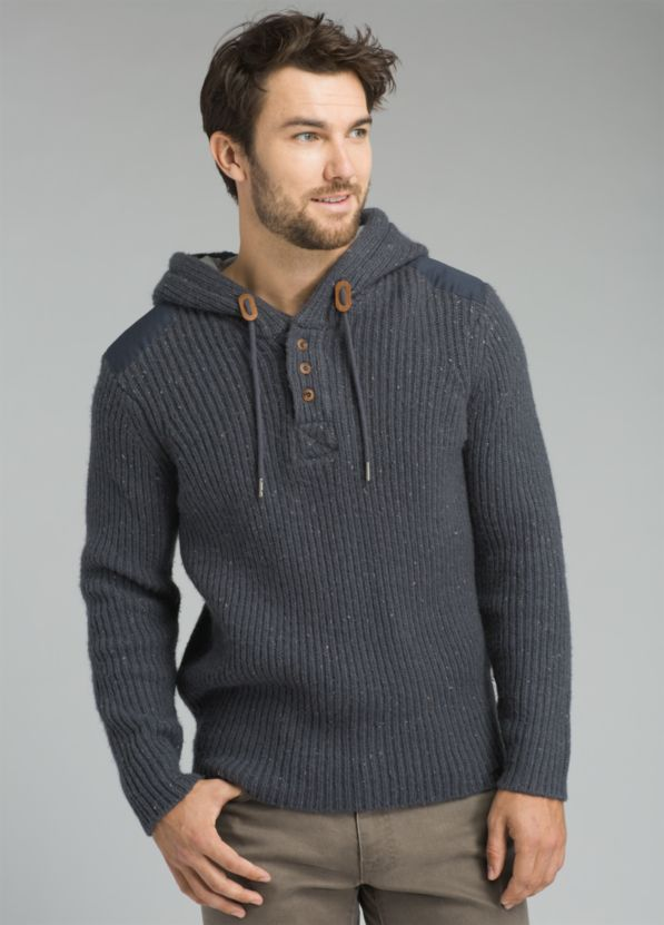 Hooded Henley Sweater Hooded Henley Sweater