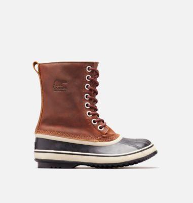 Sorel Womens Tan Boots Leather 1964 Premium Cappuccino Oxford