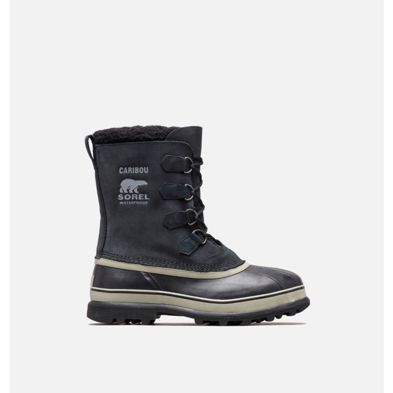 Black, Tusk Men s Caribou™ Boot, View 0 61a8928db4