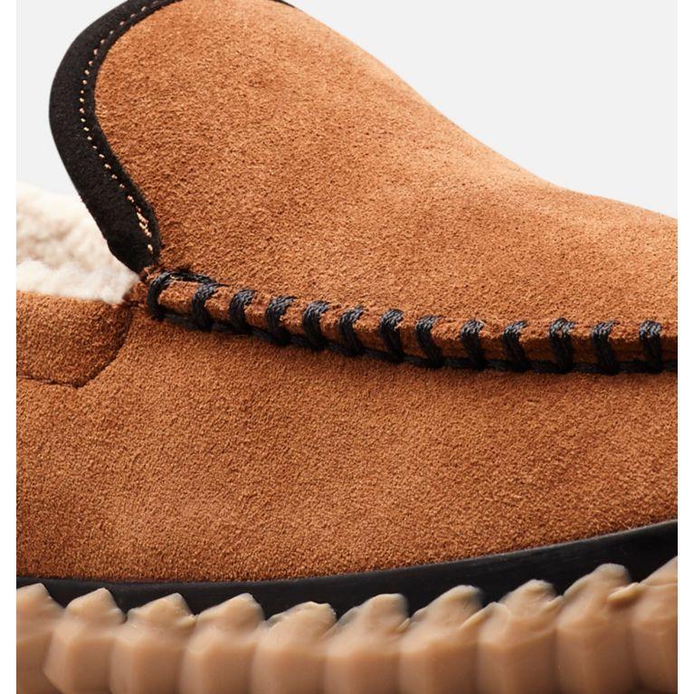f51874e9f1c Men s Sorel Dude Moc suede leather slipper shoe