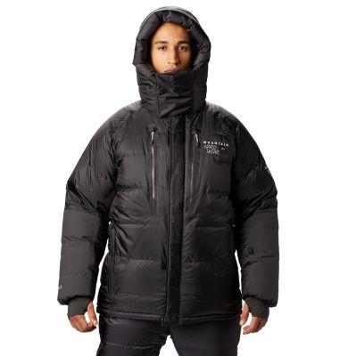 8L3K Mountain Hardwear Absolute Zero Down Parka Mens State Orange Shop Authentic