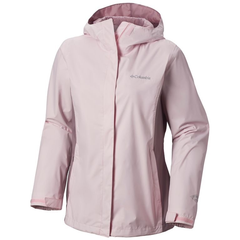 Womens arcadia rain jacket columbia canada whitened pink womens arcadia ii rain jacket gumiabroncs Images