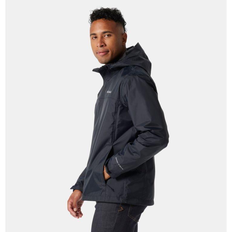 3426593d8 Men s Watertight Hooded Rain Jacket
