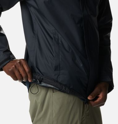 390049eb3c4a Men s Watertight Hooded Rain Jacket