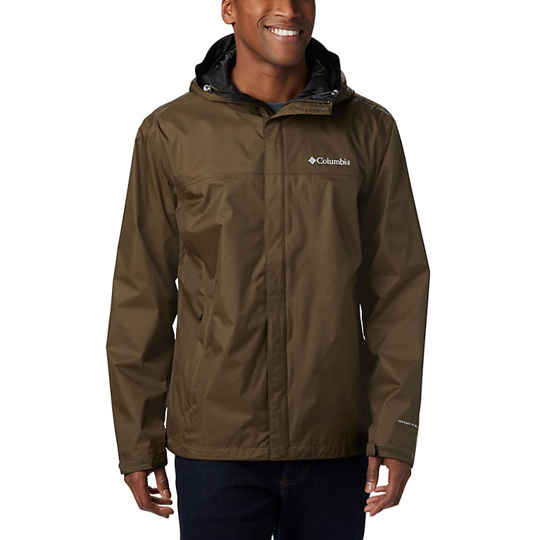 8a04aeb56a2 Men's Watertight Hooded Rain Jacket | Columbia Sportswear