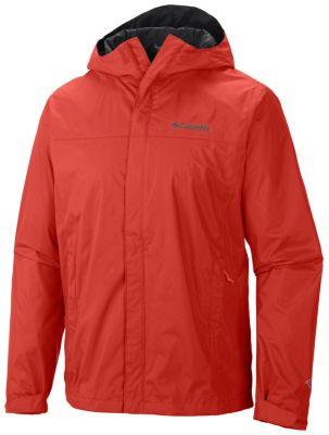 men�s watertight waterproof breathable hooded rain jacket