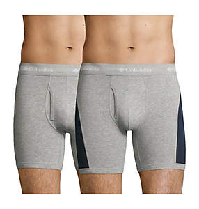 Boxer Color Block Coton Homme x2
