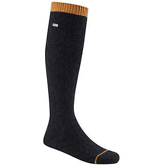 Women's Novelty Cable Wool Knee-Hi Socks