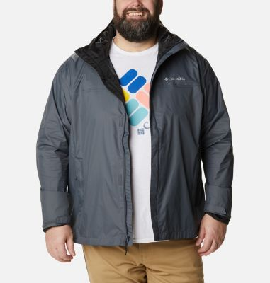 d25b25021 Men's Watertight Rain Jacket - Big | Columbia.com