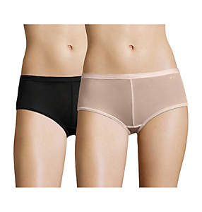 Women's All Way Stretch Micro Mesh Boyshorts x2