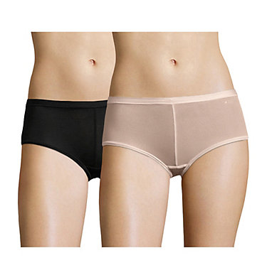 Shorty Micro Mesh Femme x2 , front