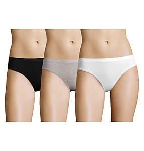 Cotton Stretch Slip für Damen x3