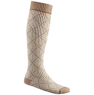 Women's Diamond Pattern Knee-High Sock
