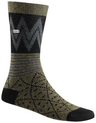 Women's Pattern Block Crew Sock