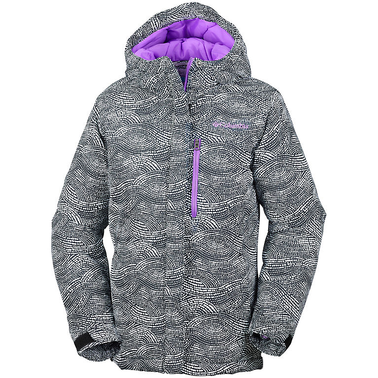 5806a80d1ba4 Black Dotty Mogul Print Girls  Alpine Free Fall™ Jacket