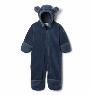 b8c9b8c6e Baby Tiny Bear Fleece Bunting Hooded Suit - Infant
