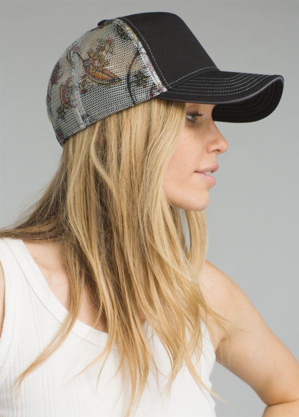 Idalis Trucker Hat Idalis Trucker Hat, Black Grey