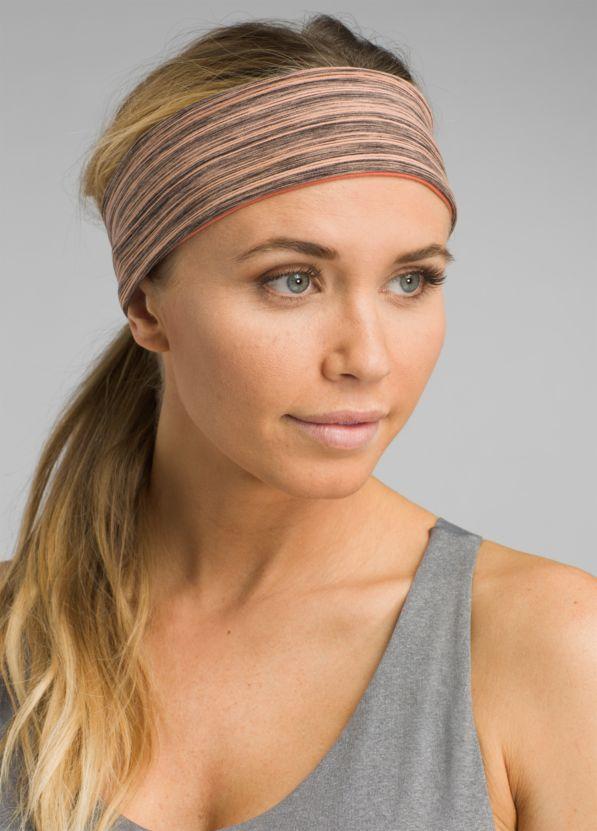 Reversible Headband Reversible Headband, Peach Heather