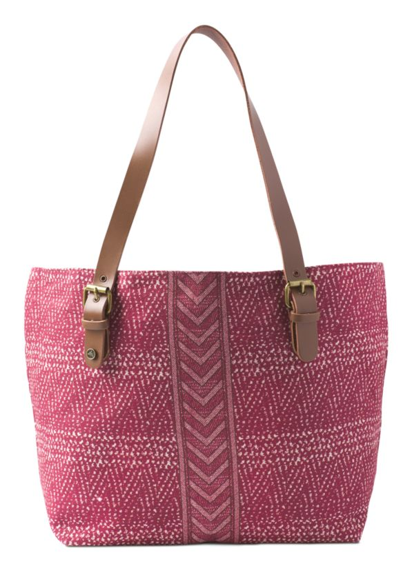 Slouch Tote Slouch Tote, Crushed Cran Sumatra