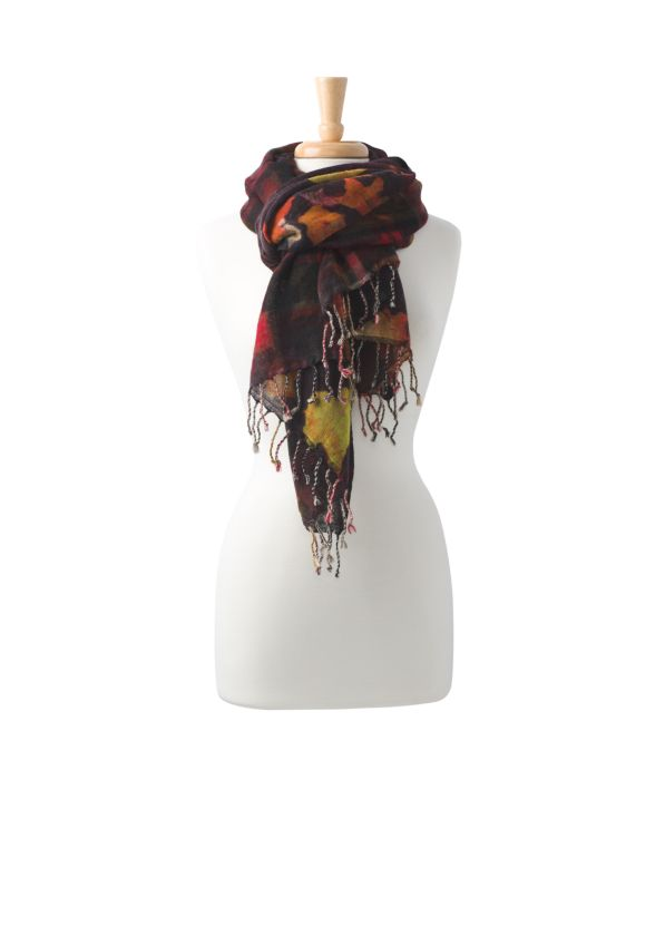 Cameo Scarf Cameo Scarf, Mulled Wine