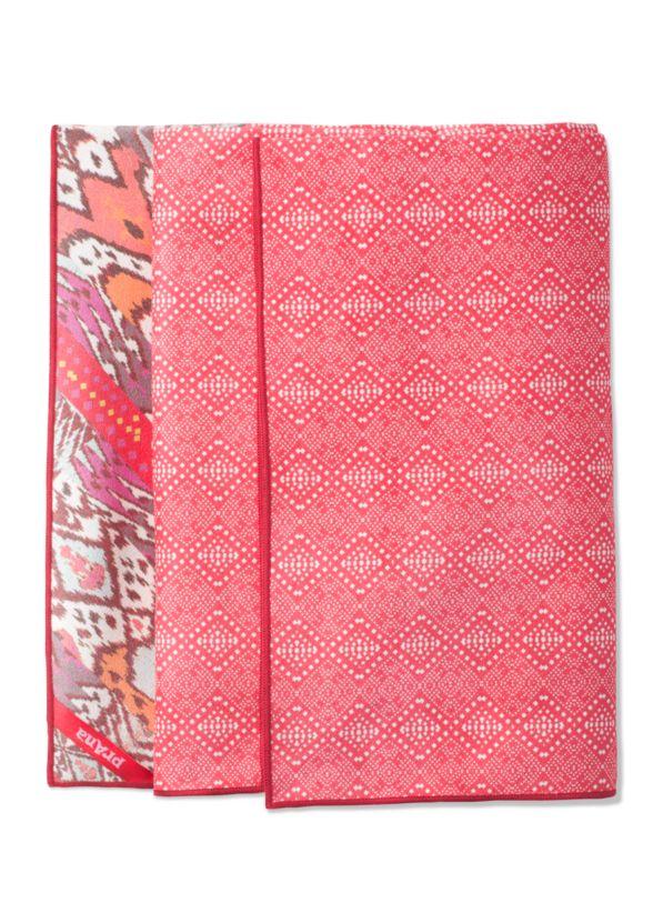 Maha Yoga Towel Maha Yoga Towel, Carmine Pink Marrakesh